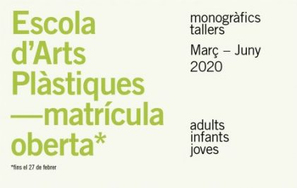 Matricula oberta Marc-juny 2020-Noticia